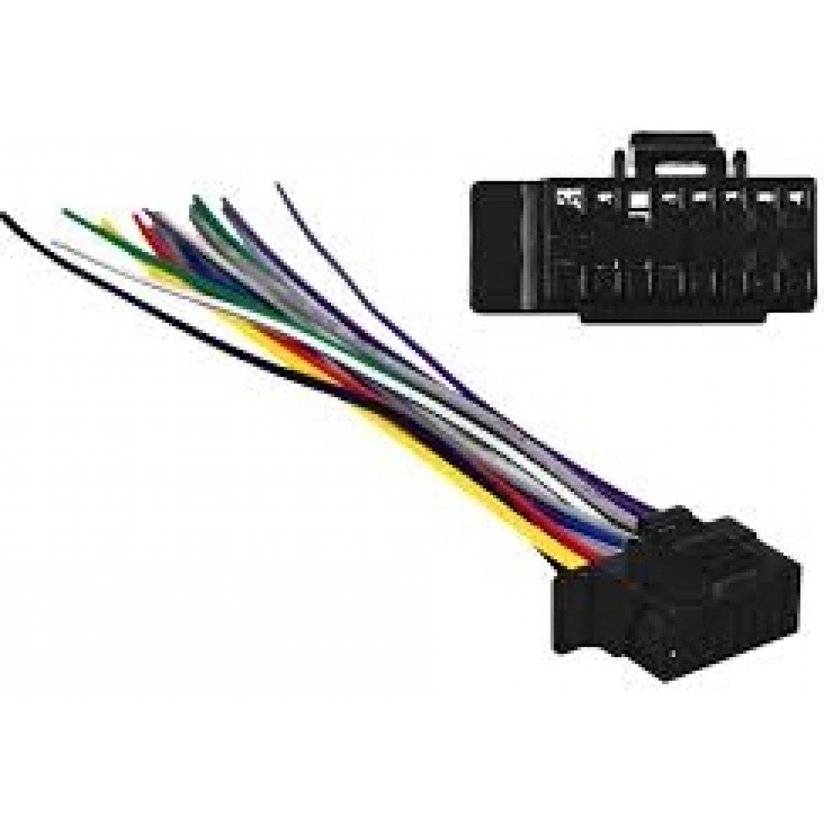 Radio Wire Harness For Sony Wiring